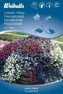 Hänglobelia - Fountain Mix - Weibulls fröer