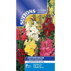 Antirrhinum Madame Butterfly Mix F1-0
