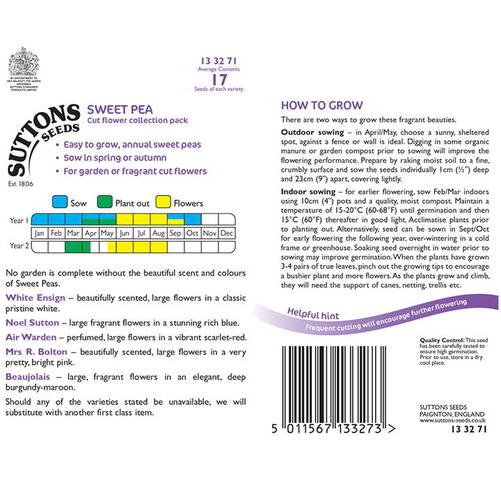 Sweet Pea Collection (Double Hook)-9273