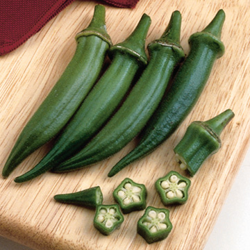 Okra Clemsons Spineless - Sutton Seeds