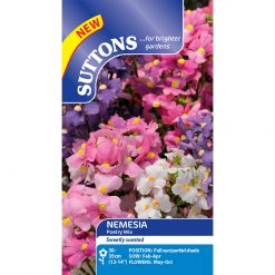 Nemesia - Poetry - Suttons Seeds