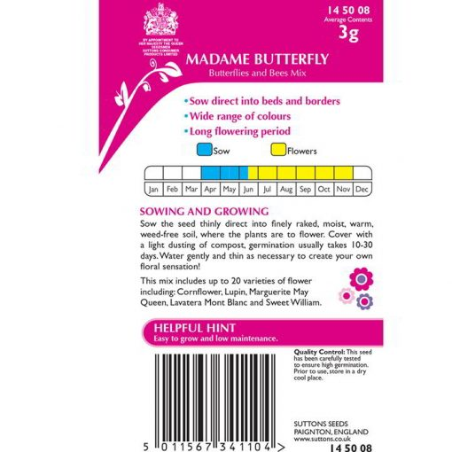 Flower Mixes Madame Butterfly 1Sqm-9310