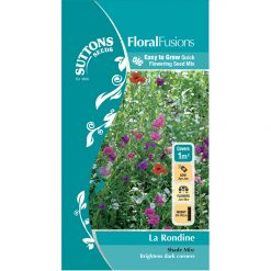 Blomsterblandning - FloralFusions - La Rondine - Suttons Seeds