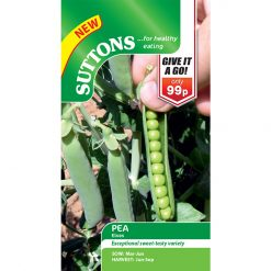 Ärtor ´Pea Seeds - Elvas´-Sutton Seeds