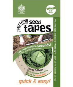 Cabbage - Savoy Tape-0