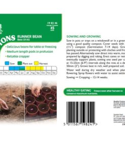 Böna Bean ´Runner Best Of All`-Suttons Seeds