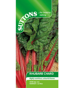 Mangold Beet (Leaf) ´Rhubarb Chard`- Suttons Seeds
