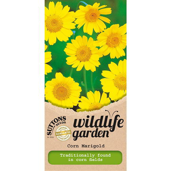Wildlife Garden Seeds - Corn Marigold – Suttons Seeds-8270