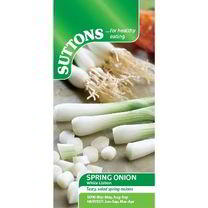 Onion (Salad) Seeds - White Lisbon - Suttons Seeds