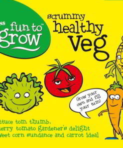 Scrummy Healthy Veg Collection Suttons Seeds