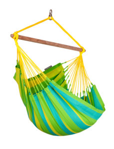 LA SIESTA® Sonrisa Lime - Vädertålig basic hängstol-0
